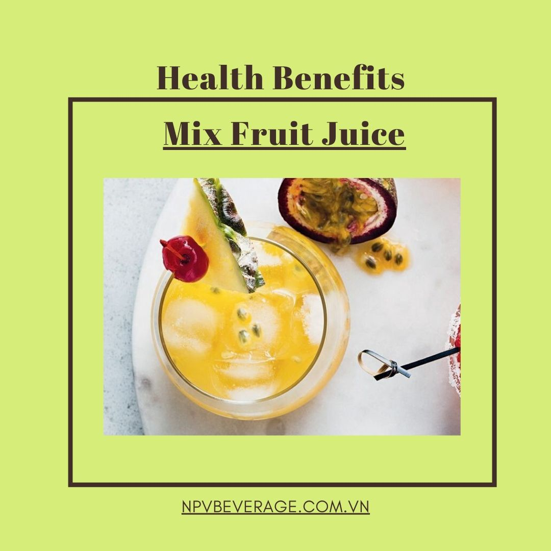 Mix Fruit Juice is delicious and healthy
