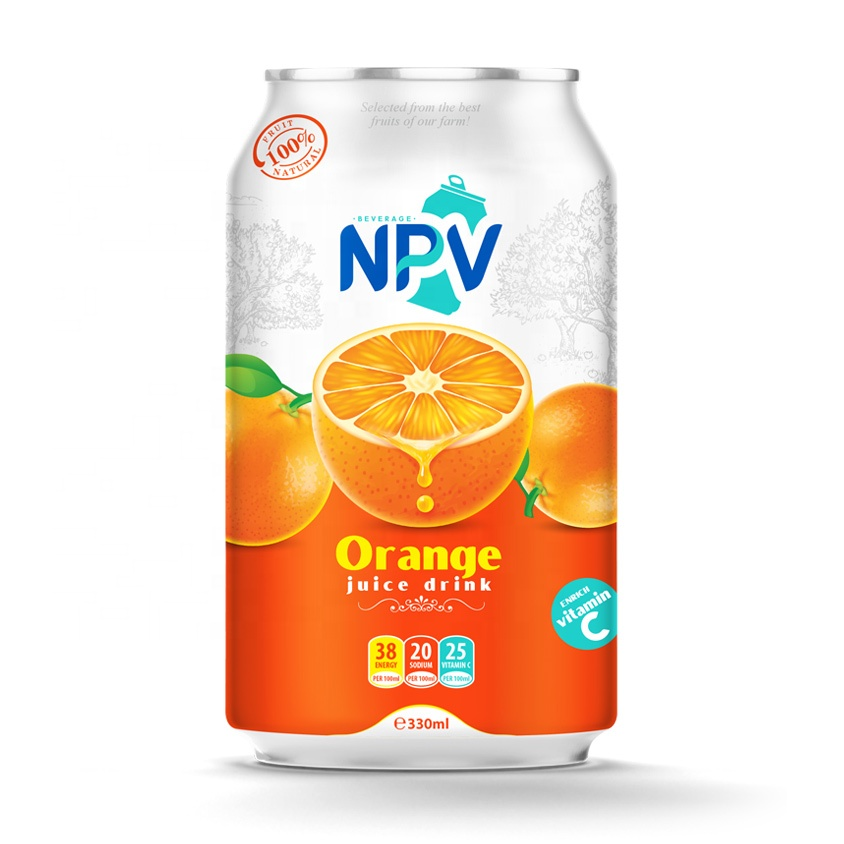 Orange Juice Dribk 330ml Canned