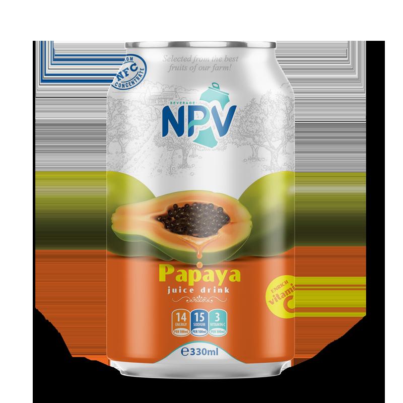 Papaya Juice Drink 330ml Can
