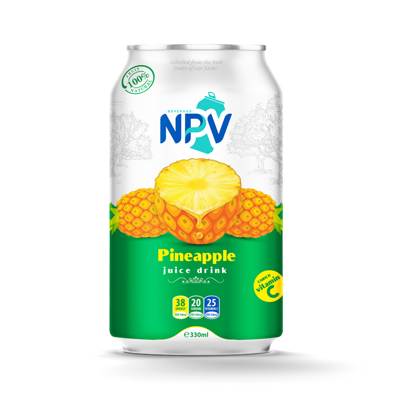 Pineapple Juice Drink 330ml Can