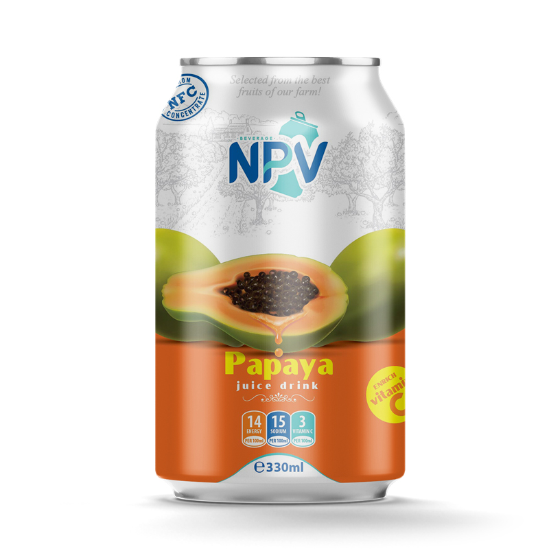 Papaya juice 330ml can