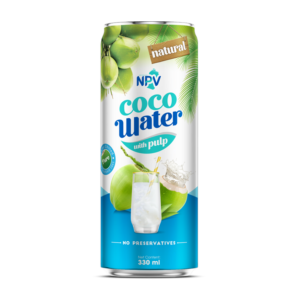 Coconut water with pulp 330ml Can
