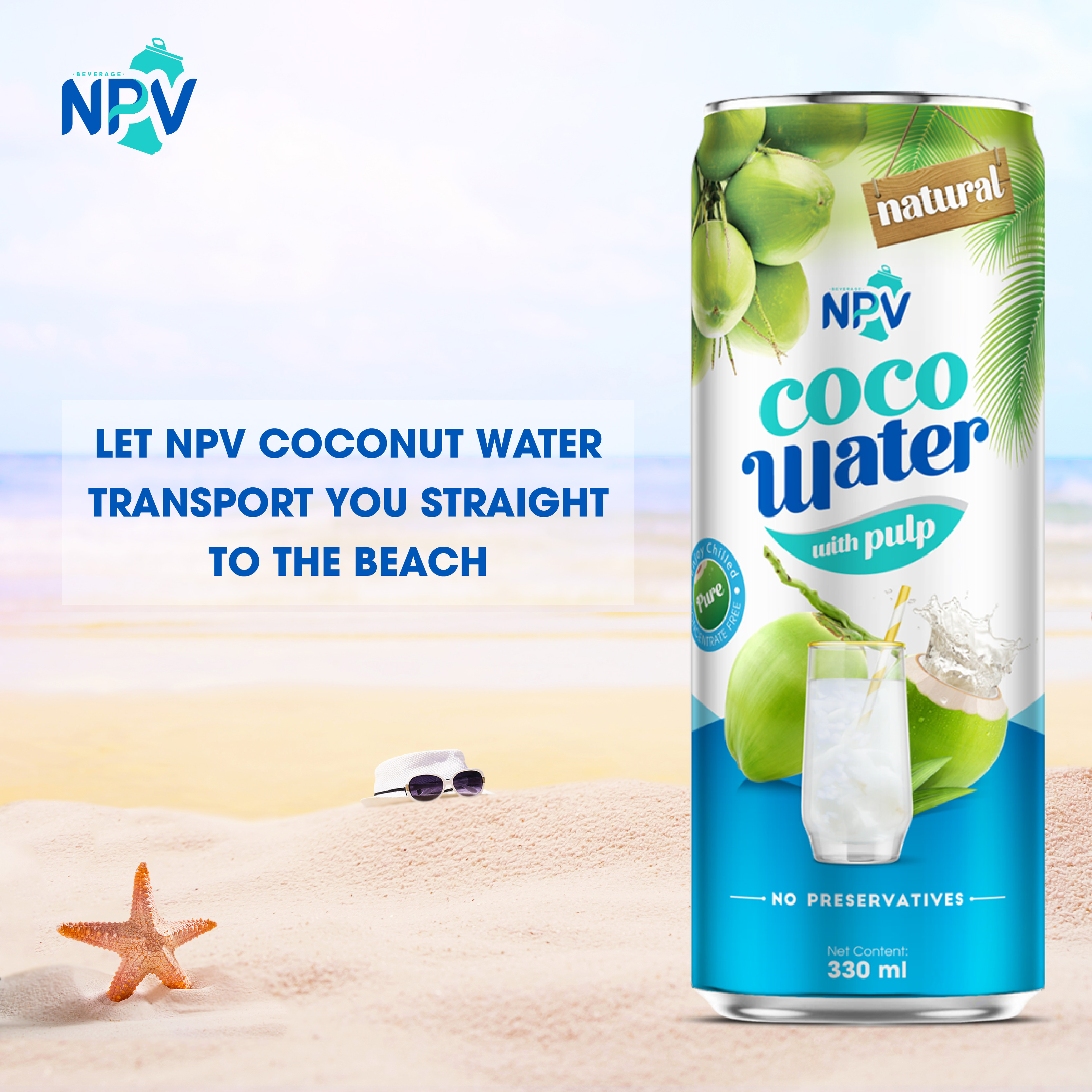 NPV  Brand Cocobut water