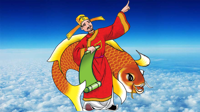 Offer Land Genie and Kitchen God is a traditional custom on Lunar New Year (Photo: Internet)