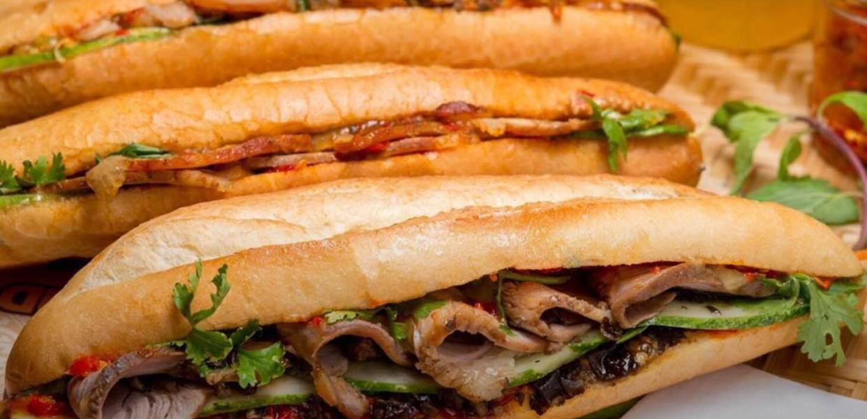 One of Hoi An Traditional food is Banh Mi